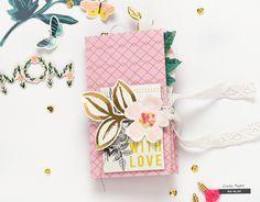 Bea Valint: Mother's Day mini album   Crate Paper DT