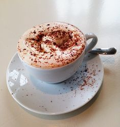 Five Belly-Warming #Drinks For The End Of Winter.  Hot chocolate, spiked coffee, green latte and eggnog. We have some of your favourites... but with a twist.