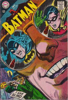 Batman #205 (1940 1st Series) September 1968    DC Comics   Grade VG/F