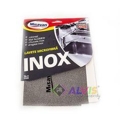 Laveta Microfibra MISAVAN - INOX 1 buc 30x32 cm Cover