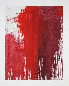 Hermann Nitsch: Motiv 3 - rot - Galerie-F