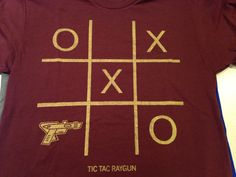 Tic Tac Raygun shirt (custom color)