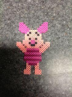 Piglet perler beads by Gertie VS