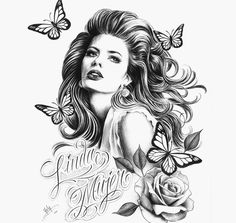 Chicano Drawings, Chicano Art, Tattoo Drawings, Art Drawings, Lowrider Art, Free Adult Coloring Pages, Foil Art, Fantastic Art, Skull Art