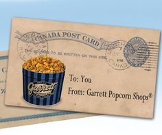 Oh, Canada! You need Garrett Popcorn!