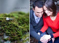 wedding ring close-up    {Mark + Kristin} Philadelphia, PA Engagement Photography » Andrea Warden