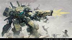 Awesome Robots | robot lawan kucing by Reza-ilyasa on deviantART