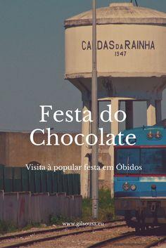 #Ginjinha em copo de #Chocolate! #Óbidos