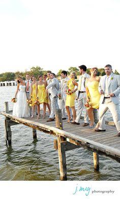 Yellow and Grey wedding wedding-ideas