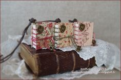 Book Binding, Little Books, Boutique, Miniatures, Gift Wrapping, Scrapbook, Fabric Scraps, Friday, Gift Wrapping Paper