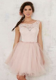 fba7a14acf Shop Morilee s Lace and Tulle Damas Dress with Beading. Quinceanera Dresses  by Morilee designed by Madeline Gardner. Beautiful Quinceañera Bridesmaids  Dress ...