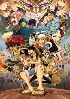 One Piece Vs Donflamingo