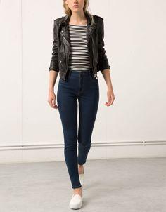 Jean Skinny high waist Bershka - Jeans - Bershka España