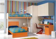 Dormitorio juvenil. Camas literas.  Furniture. Muebles.   http://www.decorhaus.es/es/
