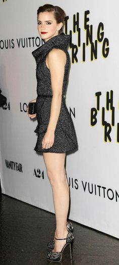 Emma Watson Smoulders At Bling Ring Premiere.