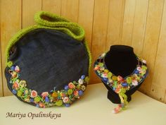 crafts for summer: sewing, crochet and knitting bags pattern | make handmade, crochet, craft