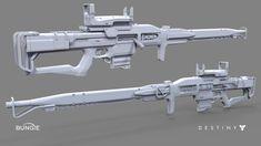 ArtStation - Destiny: The Taken King Sniper Rifle E, David Stammel