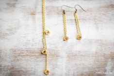 Hex Earring | DIY Accessories You Can Do In the Comfort of Your Couch This Winter