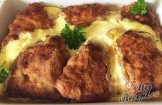 Cordon bleu trochu jinak | NejRecept.cz Cordon Bleu, Mashed Potatoes, Beef, Chicken, Ethnic Recipes, Food, Fitness, Author, Food Ideas