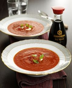 Red pepper and tomato vodka soup - 123 calories