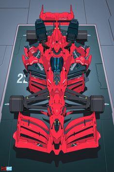 Robot Concept Art, Concept Cars, Mode Cyberpunk, Desu Desu, Gundam Art, Car Posters, Futuristic Cars, Car Sketch, Car Drawings