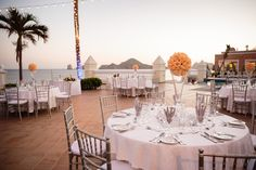Destination Wedding: Riu Palace Cabo San Lucas - Beach Wedding - Mexico - RIU Hotels - wedding table decor - table decoration