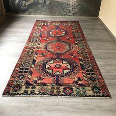 "#etsy shop: 5x10""8ft.Vintage Oushak rug,Oushak rug,muted colour Oushak rug,Home decor Oushak rug,Oushak Vintage Rugs,Wool rug,Handmade Turkish rug,rug. http://etsy.me/2CouNSR #housewares #red #blue #oriental #bohemianeclectic #oushaklargerug #vintageoushakrug #carpet"