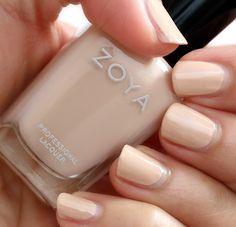 Zoya Nail Polish in Chantal | via Makeup and Beauty Blog
