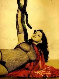 Zorita! One of her signature snake dances