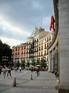 Plaza de Oriente, Madrid