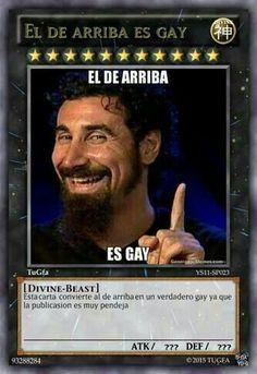 El de arriba es gay