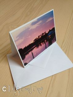 Handmade Card with motifs from the harbor  Blank by LilsCardCraft, $3.00