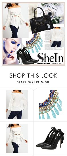 """""""SHEIN"""" by damira-dlxv ❤ liked on Polyvore featuring Post-It"""
