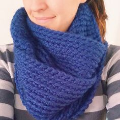 Chunky crochet infinity scarf- pattern coming soon from @Jacquie Dudt-Mulzet (The Sweeter Side of Mommyhood)