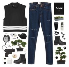 """""""Selena"""" by tamy55 ❤ liked on Polyvore featuring Nearly Natural, Chicnova Fashion, Monki, Ginette NY, Crate and Barrel, BIA Cordon Bleu, ASOS, H&M, Miss Selfridge and Vlieger & Vandam"""