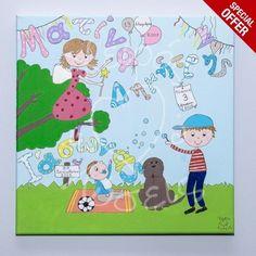 Χειροποίητο, ζωγραφισμένο όπως το ονειρεύεστε από το Χειρός Λύσεις! Ένα ξεχωριστό δώρο! Peanuts Comics, Family Guy, Website, Kids, Fictional Characters, Art, Young Children, Art Background, Boys