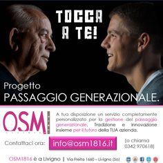 OSM 1816 srl mette a tua disposizione un servizio completamente personalizzato per la gestione del passaggio generazionale. Tradizione e innovazione insieme per il futuro della TUA azienda.   Contattaci ora a info@osm1816.it