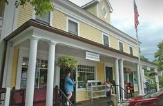 Marshfield General Store, owned by actor Steve Carell, in Marshfield MA