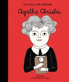 (Quatro) The book follows Agatha Christie, who taught herself to read at the age of five, on her journey to becoming the most famous crime writer of all time. This inspiring and informative little biography comes with extra facts about Agatha's life at the back.