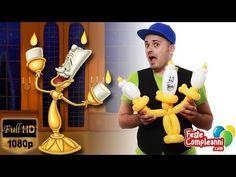 Balloon Beauty and the Beast - Scultura di Palloncini Lumiere - Balloon Lumiere Beauty and the Beast from the Disney movie. Scultura con palloncini a forma di Lumiere, il candelabro della favola La Bella e la Bestia  Lumiere con Palloncini - La bella e la Bestia - Bentornati del magico mondo della Disney! Nella  tutorial di oggi vedremo insieme come realizzare con i palloncini modellabili uno dei personaggi della bellissima favola de 'La Bella e la Bestia'. Preparatevi per accogliere Lumiere…