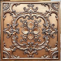 PL19-Faux-tin-ceiling-tiles-antique-embossed-background-wall-panels-10tiles-lot