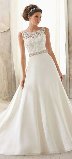 wedding dress wedding dresses http://www.planningwedding.net/ #detalles de #boda #wedding