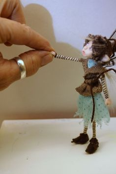 Resultado de imagen para arts and crafts,fabric dolls fairies