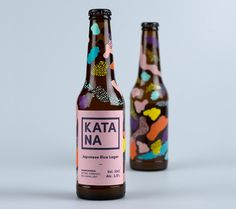 i don't love the look of this, but screening the bottles with a paper label would be sweet