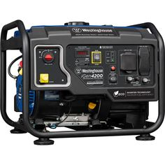 Westinghouse Watt Gasoline Powered Hybrid Open Frame Portable Inverter Generator with RV-Ready Outlet Portable Inverter Generator, Lcd Television, Travel Trailer Camping, Open Frame, Recreational Activities, Electronic Recycling, Recycling Programs, Fuel Economy, Tool Kit