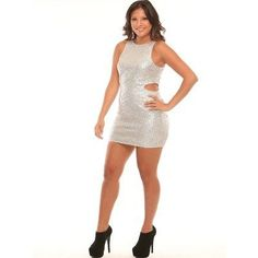 Disco Fever Cut Out Dress