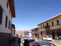 Primer recorrido por las calles de Cusco, Perú....!!!