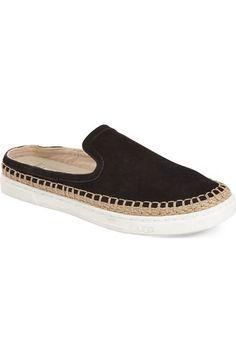 UGG Caleel Flat Espadrille Mule leather black, skyline sz7.5 84.95 6/16. Slip  On SneakersSneakers WomenEspadrillesShoe ...
