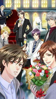Be my princess 2 characters Manga Boy, Anime Boys, Star Crossed Myth, Anime Prince, Samurai Love Ballad Party, My Princess, Princess Party, Perfect Boyfriend, Shall We Date