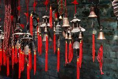feng shui home decorating with bells